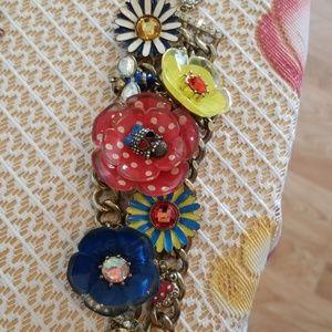 Betsey Johnson vintage skull bracelet